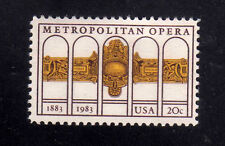 ESTADOS UNIDOS/USA 1983 MNH SC.2054 Metropolitan Opera