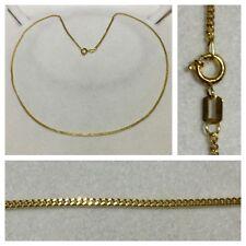 Cadena de Oro Collar 333ER GOLD COLLAR DE ORO 8 quilates COLLAR DE ORO L 45cm
