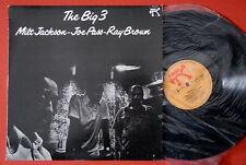THE BIG 3 JACKSON PASS BROWN JAZZ 1976 EXYUGOSLAV LP