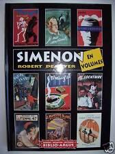 Georges Simenon en volumes biblio argus neuf bibliographie