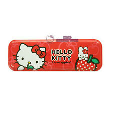 Sanrio Hello Kitty Tin Pencil Case(Box) : Red Apple