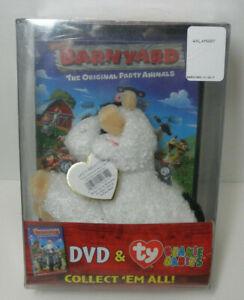Barnyard (DVD, TY Cornstalk Beanie Plush Toy Included Retail Exclusive) RARE OOP