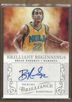 2012-13 Panini Brilliance Brilliant Beginnings Autographs #15 Brian Roberts Auto