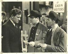 "ROBERT EMMETT O'CONNOR & DICK REECH in ""Big City"" Original Vintage Photo 1937"