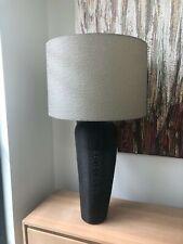 Jimmy Possum Large Lamp Black w/Gunmetal Grey Shade