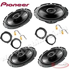 Car stereo front and rear 4 speakers kit for PIONEER Fiat Stilo 2001-2014 5 port