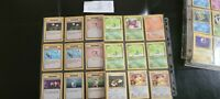 POKEMON & POCKET MONSTERS Card ASSORTED LOT NON-HOLO 1ST EDITION RARE