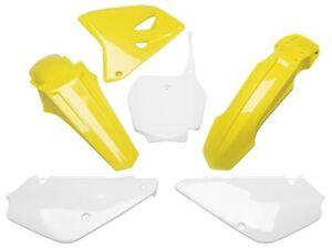UFO Restyled Complete Plastics Kit OE Yellow SUKIT405K999 for Suzuki RM85/RM85L