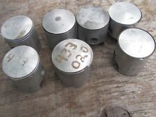 Vintage Yamaha Snowmobile 433 440 Piston Lot Sno Jet Thunder-Jet GPX SR