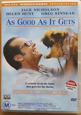 DVD As Good As It Gets - Jack Nicholson Region 4
