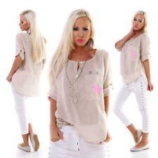 Damenblusen, - Tops & -Shirts in Größe 38-Blusen mit Sterne
