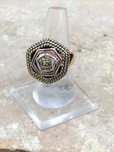Barse Multiplicity Ring-Mixed Metals- 8- New With Tags