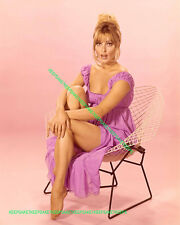 ACTRESS SHARON TATE DRESS RAISED WAY UP LEGGY 8X10 BAREFOOT TOES PHOTO A-STAT2