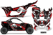 SIKSPAK Can Am Maverick X3 Full Graphic Kit Wrap Sticker Parts 2016 + REBIRTH R
