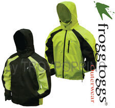 FROGG TOGGS RAIN GEAR-NT65119 MENS KIKKER II JACKET TOADZ SAFETY REFLECTIVE WORK