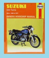 GT Suzuki Motorcycle Manuals & Literature