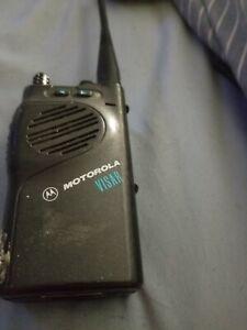 Motorola Visar Two Way Radio H05RDD9AA4AN