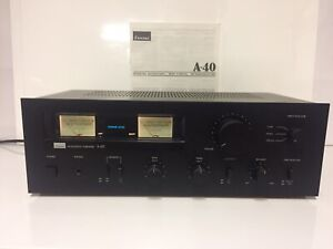 Sansui Intergrated Amplifier A-40. Please Read Description