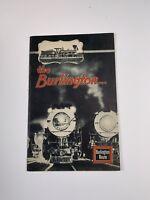 Souvenir The Burlington & Quincy Railroad 1933 Chicago Century Progress