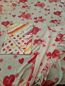 Genuine Official PLAYBOY RABBITS Single Fitted Sheet & Pillowcase