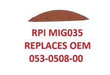 RPI MIG035 M9 Autoclave Door & Dam Seal Gasket Midmark Replacements 053-0508-00