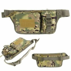 Military Fanny Pack Tactical Waist Bag Pack Water-Resistant Hip Belt Bag Pouch