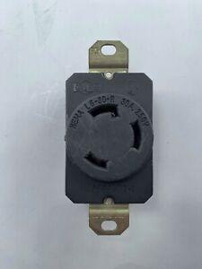 Pass & Seymour WC596/77-1 Receptacle, NEMA L6-30-R, 30A, 250V, Used