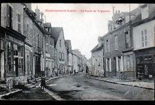 "CHATEAURENARD (45) COMMERCE ""Charles MAGNY"" & SALON de COIFFURE animé vers 1900"