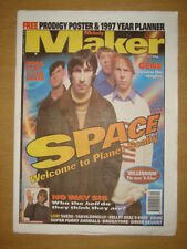 MELODY MAKER 1996 DEC 7 SPACE PRODIGY SUEDE GENE ASH