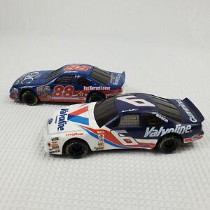 1997 Toy Biz NASCAR Friction Racers Valvoline Mark Martin Dale Jarrett Cars