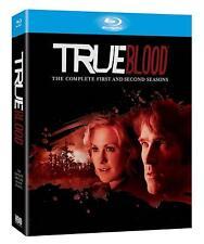 TRUE BLOOD COMPLETE SEASON 1 AND 2 BLU-RAY 10 DISC BOXSET UNCUT VAMPIRE EPIC