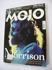 MOJO - SEPTEMBER 2001 - JIM MORRISON - NEW ORDER - MILES DAVIS