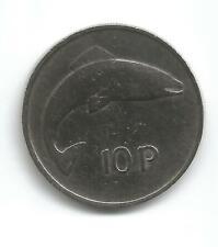 Eire 1978 10p Salmon coin