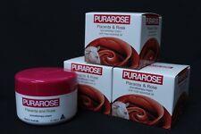 3 x REBIRTH PURAROSE Placenta aromatherapy Cream with rose essential oil 100 ml