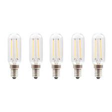 5 x LED Filament Röhre T25 2W = 25W E14 klar 200lm Kühlschrank Röhren warmweiß