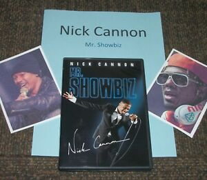 NICK CANNON / Mr. BhowBiz Autograph Video RP Collectible