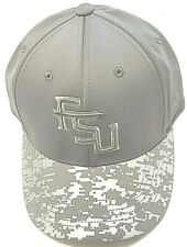 FLORIDA STATE UNIVERSITY PRO SHAPE FLEX FIT OSFA GREY REFLECT NCAA CAP/HAT TOW