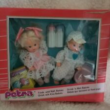 Petra Drink And Wet Babies By Lundby Very Cute New In Box Great Find