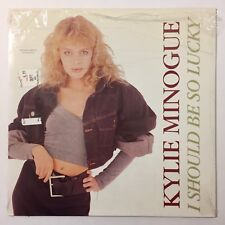 Kylie Minogue I Should Be So Lucky Vinyl 12 Inch Single 1987 Maxi Single NM/EX
