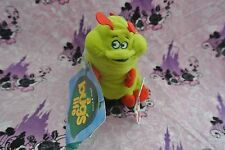 Rare Bugs Life Plush Heimlich Bean Bag Caterpillar Disney Store Stuffed Toy