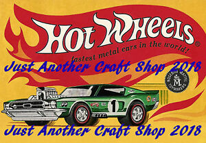Hot Wheels Redline Poster 1967 Heavy Chevy Advert Shop Display Sign Leaflet A4