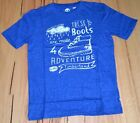 Timberland Boys Printed T Shirt - BLUE - SIZE - 8,10,12 & 14 YEARS - NEW