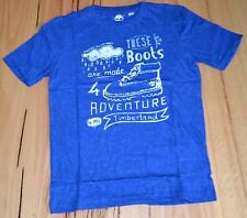 Timberland Boys Printed T Shirt - PLUM  - SIZE - 6,8,10,12 & 14 YEARS - NEW