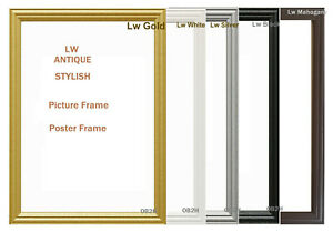 STYLISH LW,ANTIQUE PHOTO,PICTURE,POSTER,FRAMES, MUTLI COLOURS,A1,A2,A3,A4,A5