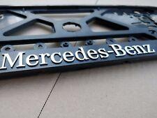 2 X Mercedes Benz S  Kennzeichenhalter License Plate Frames S Klasse 3D