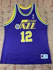 Vintage Champion Utah Jazz John Stockton Jersey Size 48