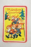 Märchen Quartett altes Kartenspiel 1970er Jahre 8633 S.82