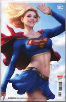 "SUPERGIRL #28 (STANLEY ""ARTGERM"" LAU VARIANT) COMIC BOOK ~ DC Comics ~ HOT"