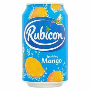 Rubicon Mango Fizzy Drinks Cans 330ml Pack of 24