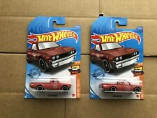 Hot Wheels Datsun 620 JDM Legends Mainline 2020 Set of 2